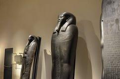 Tentoonstelling van sarcophag stock fotografie