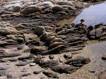 tentoonstelling van Sardische rotsen a Stock Afbeelding