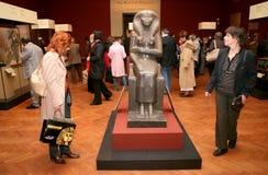 Tentoonstelling van Tutankhamun royalty-vrije stock fotografie