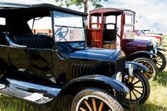 Tentoonstelling van uitstekende auto's Royalty-vrije Stock Afbeelding