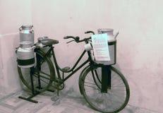 Tentoonstelling van uitstekende fietsen Stock Foto's