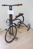 Tentoonstelling van uitstekende fietsen Stock Afbeelding