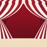 Tentpictogram Circus en Carnaval-ontwerp Grafische vector royalty-vrije illustratie