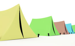 Tents Stock Photo