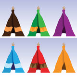 Tents Royalty Free Stock Photo