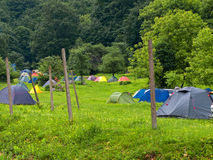 Tents Stock Photography