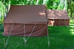 tents royaltyfria foton