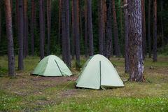 tents Royaltyfria Foton