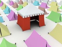 Tents Royalty Free Stock Photography