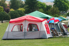 Tents Stock Image