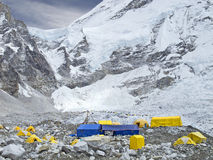 Tents in Everest Base Camp, Nepal. Stock Images