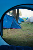 Tents vacation Stock Photography