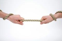 Tenuta della corda Fotografia Stock Libera da Diritti
