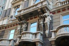 Tenuta di Atlanta il balcone di pietra a Rijeka, Croazia Immagine Stock Libera da Diritti