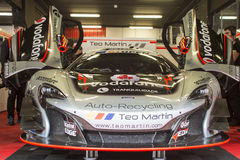 Teo Martin Motorsport.  McLaren 650S. International GT Open Royalty Free Stock Images