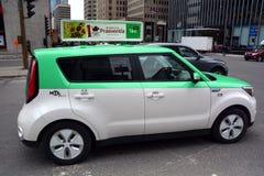 Teo Taxi Royalty-vrije Stock Foto's