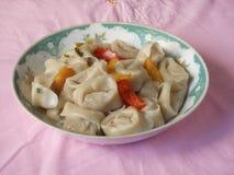 Teochew cuisine fish dumplings Royalty Free Stock Images
