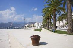 Teodo, Oporto Montenegro, Montenegro Fotografia Stock Libera da Diritti