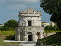 Teodorico mausoleum Royalty Free Stock Photography