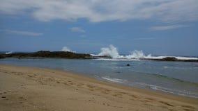 Teodoro Wyrzucać na brzeg †'Isabela, Puerto Rico zdjęcia royalty free