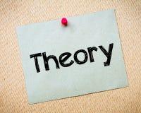 teoría Imágenes de archivo libres de regalías