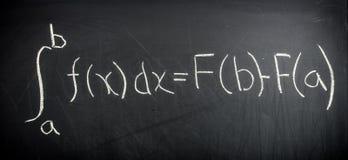 Teorema del calcolo fondamentale immagine stock libera da diritti