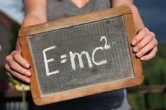 Teori av relativitet arkivfoto