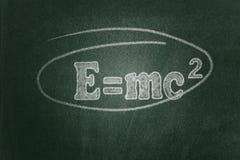 Teori av relativitet royaltyfri bild
