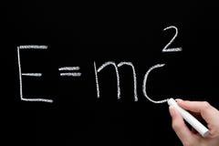 Teoria da relatividade imagens de stock