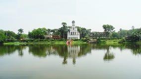 Teota Jamindar巴里在孟加拉国 免版税库存图片