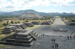 Teotichuacan Stock Photography