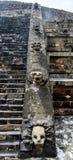 Teotihuacan金字塔楼梯 免版税库存图片