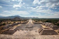 Teotihuacan,墨西哥 免版税库存图片
