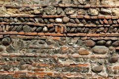 teotihuacan τοίχος ήλιων πυραμίδων του Μεξικού Στοκ εικόνα με δικαίωμα ελεύθερης χρήσης