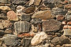teotihuacan τοίχος ήλιων πυραμίδων του Μεξικού Στοκ Φωτογραφίες