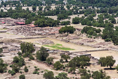 teotihuacan долина Стоковые Фотографии RF