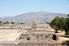 Teotihuacan � Mexico Royalty Free Stock Photo