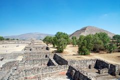 Teotihuacan � Mexico Royalty Free Stock Images