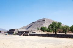 Teotihuacan � Mexico Royalty Free Stock Image