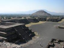 teotihuacan 免版税库存照片