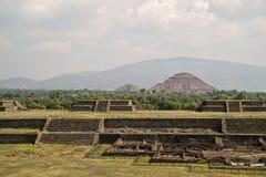 teotihuacan Στοκ εικόνες με δικαίωμα ελεύθερης χρήσης