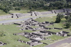 Teotihuacan 2 Royaltyfri Fotografi