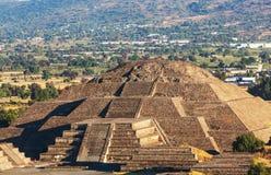 Teotihuacan Arkivfoton