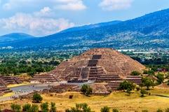 teotihuacan Стоковые Изображения RF