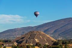 teotihuacan Royaltyfri Bild
