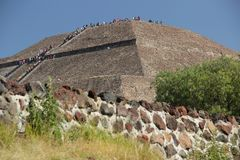 teotihuacan Photographie stock