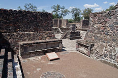 Teotihuacan Altar Mexico Royalty Free Stock Images