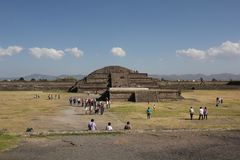 Teotihuacan ancient pre-Columbian site, Mexico Royalty Free Stock Images