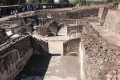 Teotihuacan ancient pre-Columbian site, Mexico Stock Photography