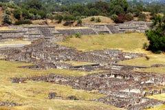 Teotihuacan arruina I imágenes de archivo libres de regalías